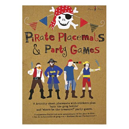 Pirate Party Activity Pack for 8 guests
